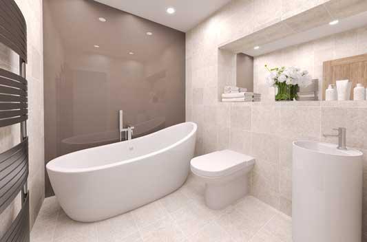 bathroom Derby court