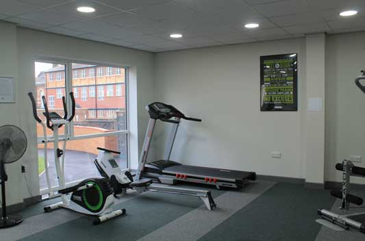 investment poulson students gym